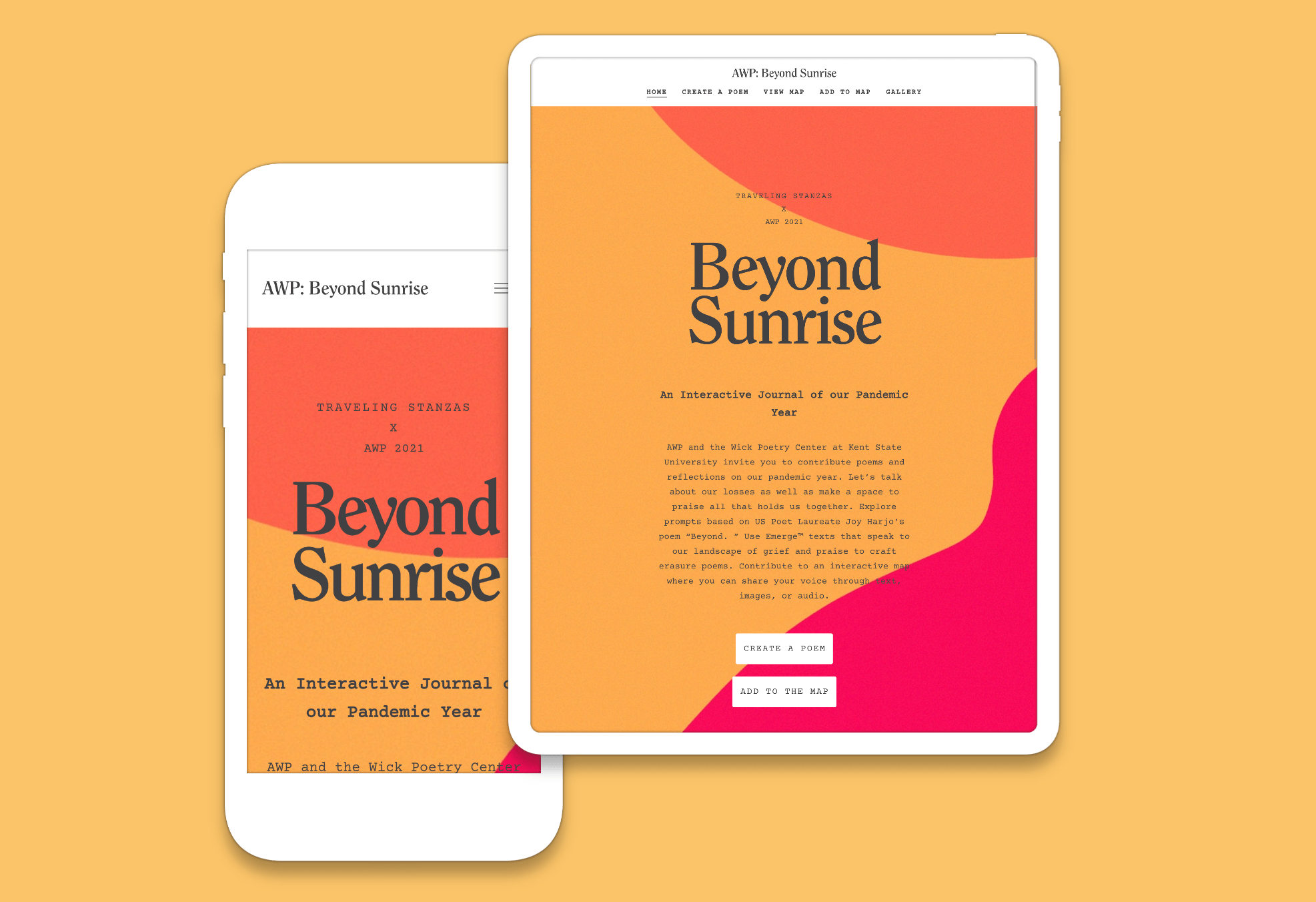 AWP 2021: Beyond Sunrise